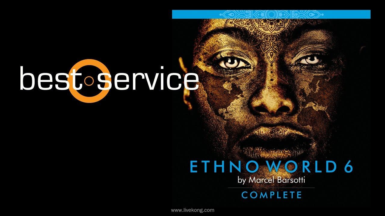 Best Service Ethno World 6 Complete 世界乐器音源