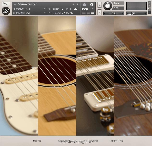 Wavesfactory Strum Guitar 节奏吉他