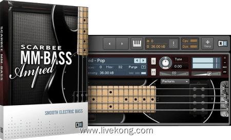 19121985 native instruments scarbee mm bass amped - livekong来悟空素材-免版税视频素材、编曲资源、音效素材资源