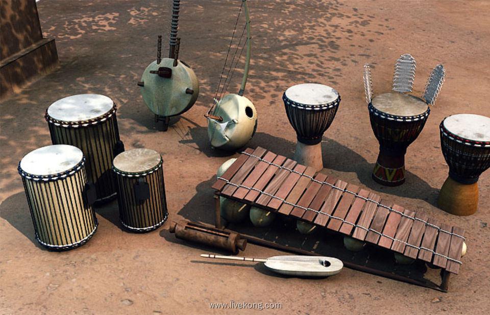 Native Instruments West Africa v1.4.1 非洲打击乐音源