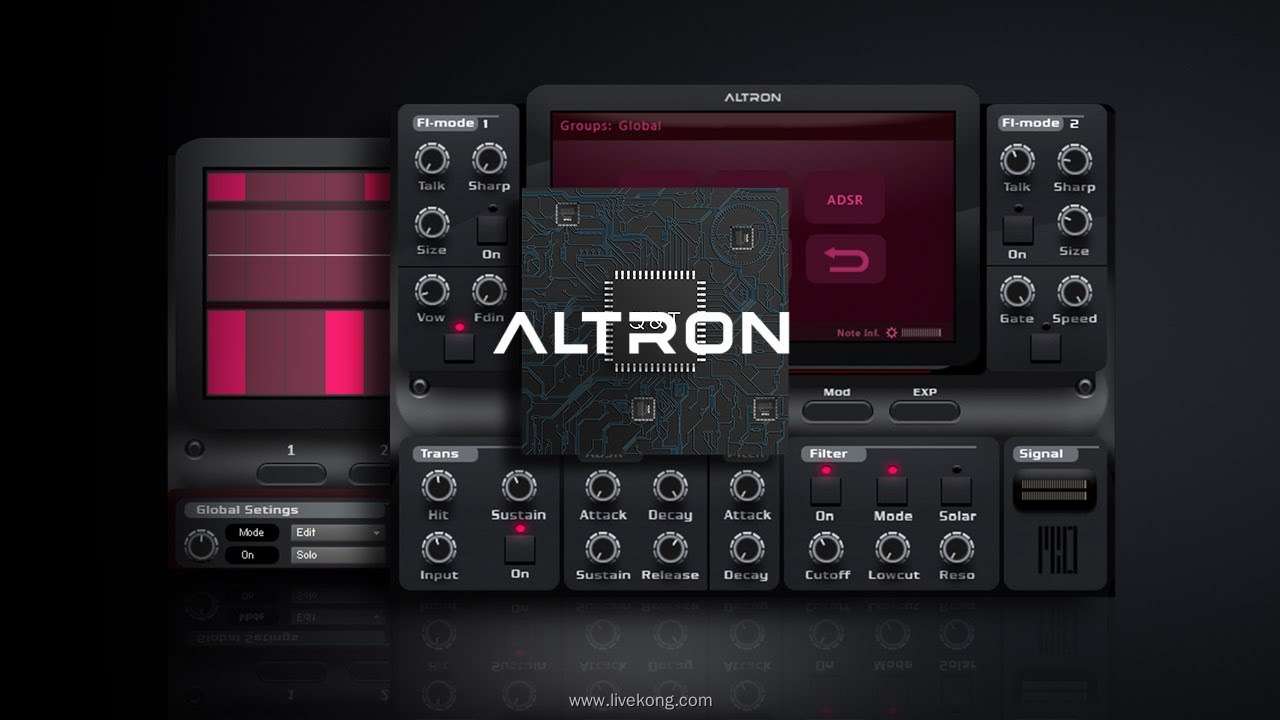 Beyron Audio Altron v1.5 合成器